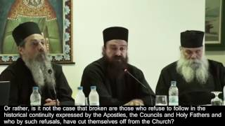 Video ORTHODOX CHRISTIANS REJECT FALSE COUNCIL OF KOLYMBARI & GLOBAL RELIGION OF ANTICHRIST download MP3, 3GP, MP4, WEBM, AVI, FLV Juni 2017