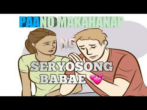 PAANO MAKAHANAP NG SERYOSONG BABAE #3RD vlog 💞