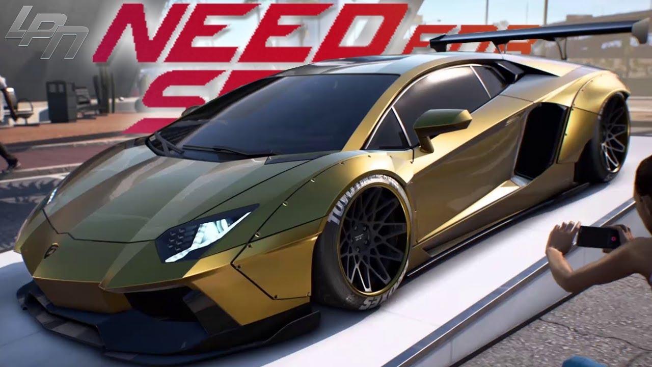 Lamborghini Sesto Elemento Gold