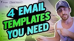 Top 4 Cold Email Templates to Get SMMA Clients