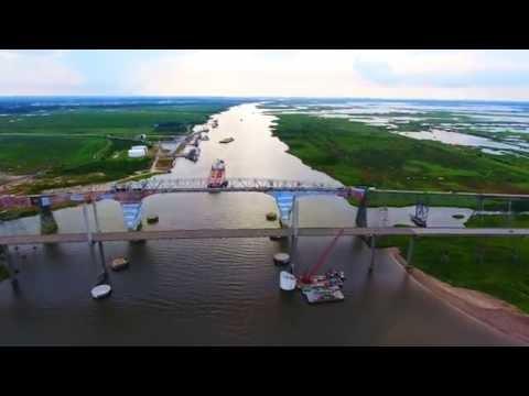 Rainbow Bridge- Atreco,TX |DJi Phantom 4| 4K(UHD)