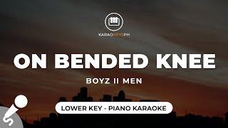 On Bended Knee - Boyz II Men (Lower Key - Piano Karaoke)