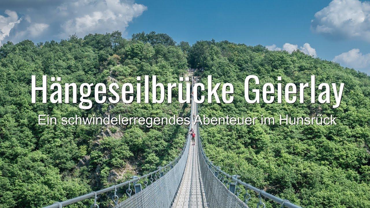 Die Hangeseilbrucke Geierlay Schwindelerregendes Abenteuer Im Hunsruck Youtube
