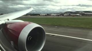 Virgin Atlantic Boeing 787-9 Takeoff from London-Heathrow