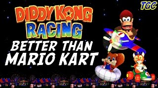 Diddy Kong Racing - BETTER than Mario Kart! | GEEK CRITIQUE