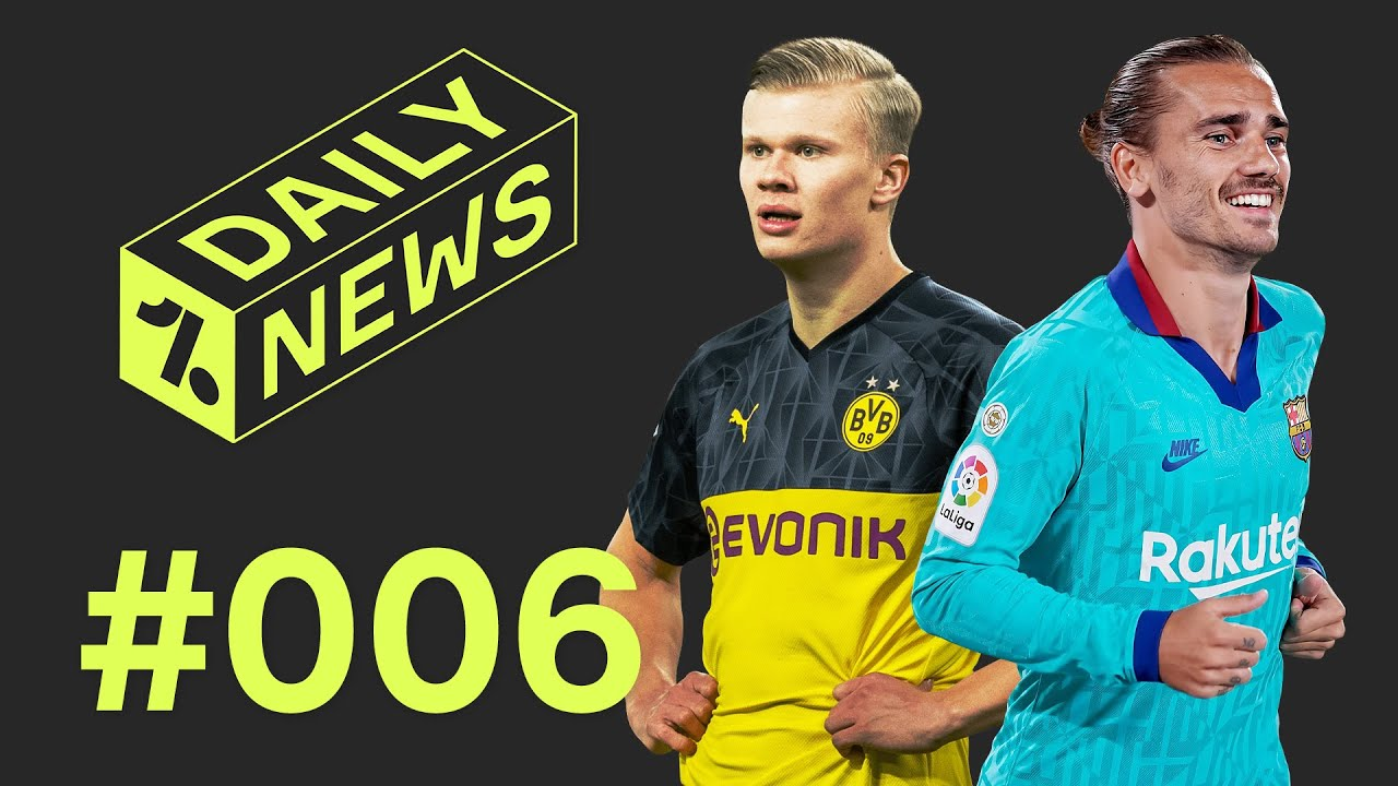 Haaland would NOT start for Man United + why Barcelona hate VAR! ► Daily News