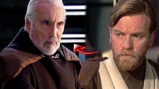 La Verdad de Por Qué Obi Wan no Pudo Vencer a Dooku pero si a Anakin y Grievous - Star Wars