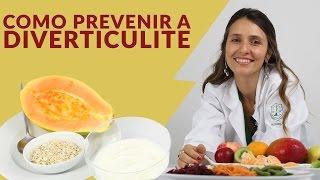 Dieta e tratamento para diverticulite