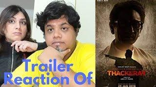 #Thackeray Thackeray|Official Trailer Reaction|Foreigner Reaction|Nawazuddin Siddiqui|
