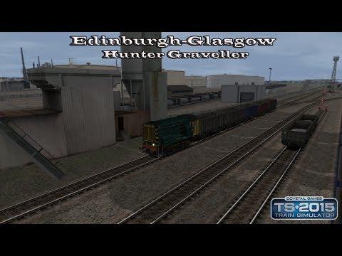 Train Simulator 2015 - Standard Scenario - EWS & Freightliner Class 08s - Hunter Graveller Part 3  