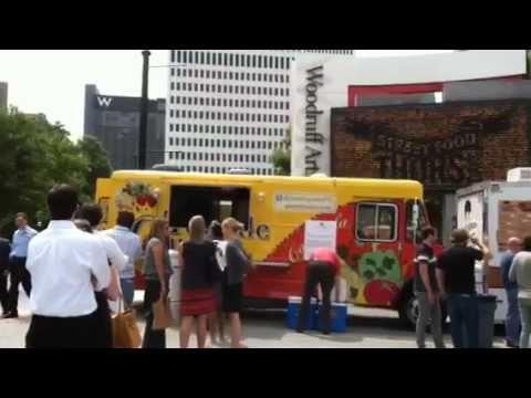 Maura Neill & 365Atlanta take you to Street Food Thursdays - Midtown Atlanta