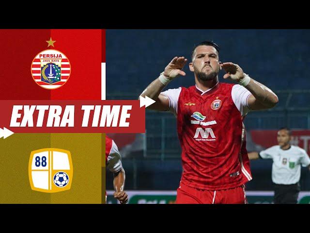 Persija Jakarta 1-0 PS Barito Putera [Perempat Final Piala Menpora 2021] | Extra Time