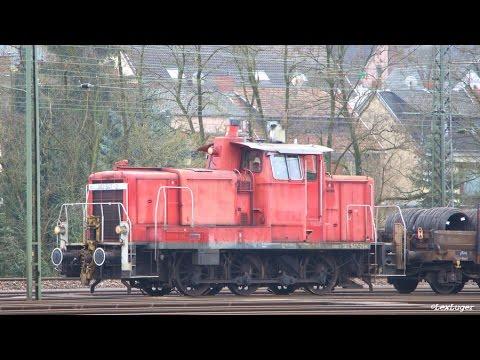 v60 diesellokomotive db 363 547 2 bei der arbeit in