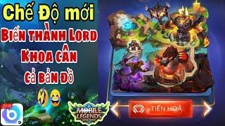 Mobile legends: Chế Độ Mới TIẾN HOÁ , Hoá thân thành Lord dành top 1 dễ dàng cùng Khoa Legends.