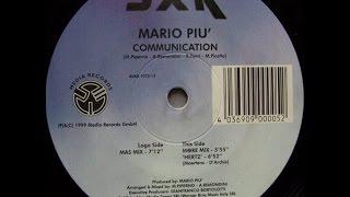 Mario Piu - Communication (More Mix and Hertz)