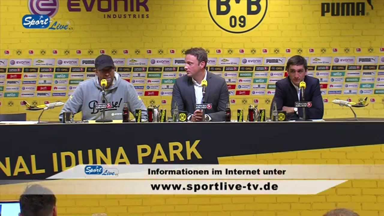Pressekonferenz nach dem Spiel : Borussia Dortmund - Hannover 96 0:1