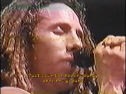 Rage Against the Machine - Ashes in the Fall - London 1999 with Lyrics / Subtitles