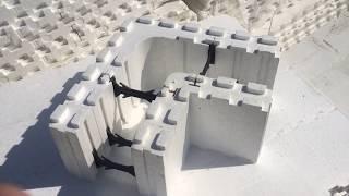 Обзор блоков несъемной опалубки