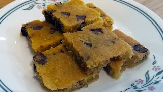 Chocolate Chip Slab Cookies (Low Carb  LCHF  Sugar & Gluten Free)