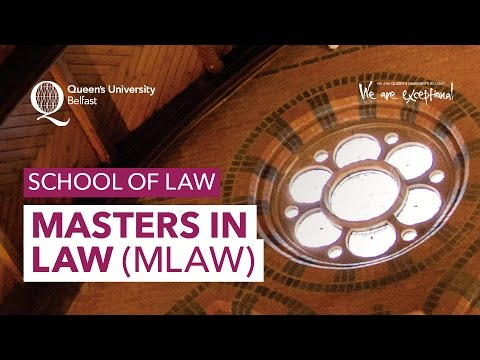 Masters in Law (MLaw) - School of Law