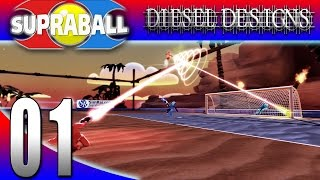 Let's Try SupraBall :EP1: Scoring Goals and Taking Names! (FPSG 1080p Shooter Sports)