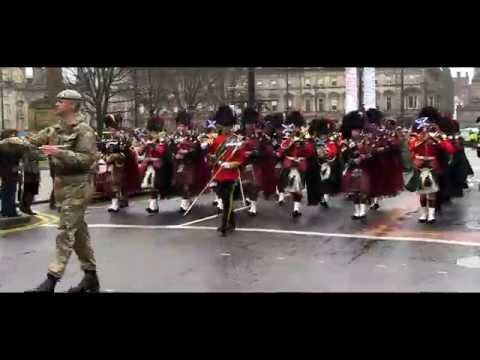 Royal Scots Dragoon Guards: Homecoming Glasgow 2014