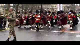 Royal Scots Dragoon Guards: Homecoming Glasgow 2014 thumbnail