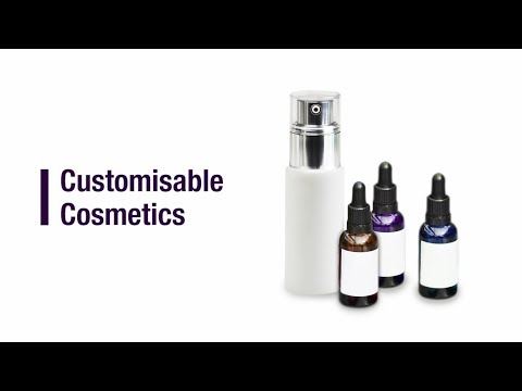 How to Formulate Customisable Cosmetics
