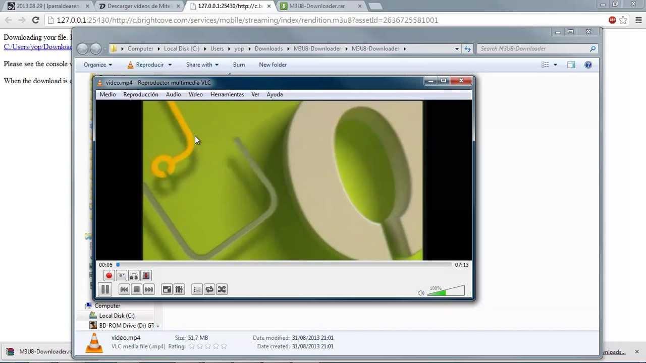 M3U8 Downloader con Descargavideos tv - Thủ thuật máy tính