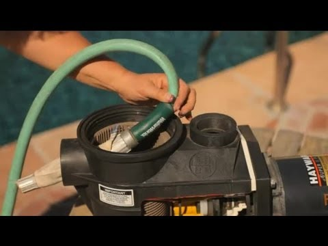 How To Clear Blockages In The Circulation Lines Of A Pool