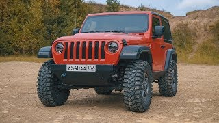 All off-road changes of Jeep Wrangler Sport in one episode.