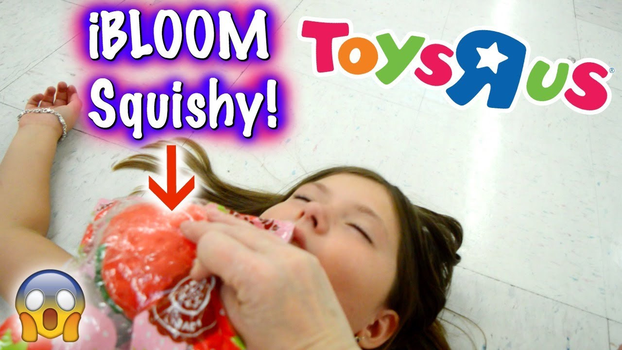 Squishy Pops At Toys R Us : OMG! REAL SQUISHIES AT TOYS R US!!! SHE FAINTED! ~ Squishy Hunting Vlog/Skit Sedona Fun Kids ...