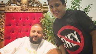 DJ KHALED MEETS HIS SON!!