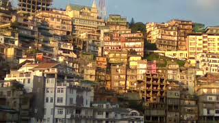 Aizawl evening scene - Mizoram /आइजोल