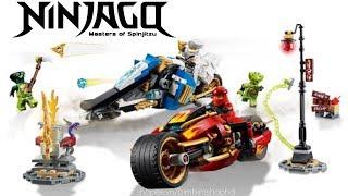 Đồ Chơi Xếp Hình LEGO NINJAGO Siêu Kiếm Của KAI & Xe Nguyên Tố Của ZANE