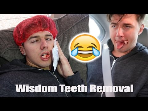 GETTING MY WISDOM TEETH REMOVED (WISDOM TOOTH REACTION)