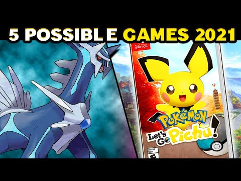 Top 5 POSSIBLE New Pokemon Games In 2021