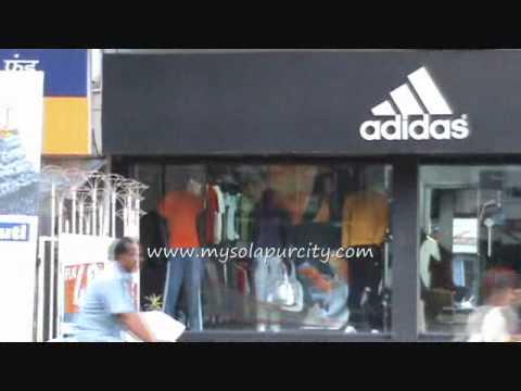 37e8279276fbf Solapur Adidas Showroom - YouTube