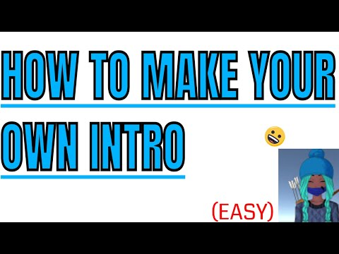 HOW TO MAKE AN INTRO(With Panzoid)Easy and Quick!