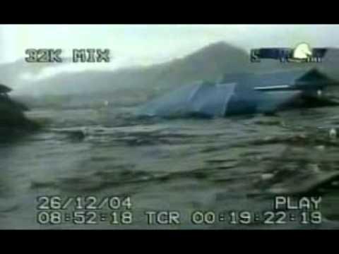 Tsunami Video Banda Aceh In Indonesia Youtube