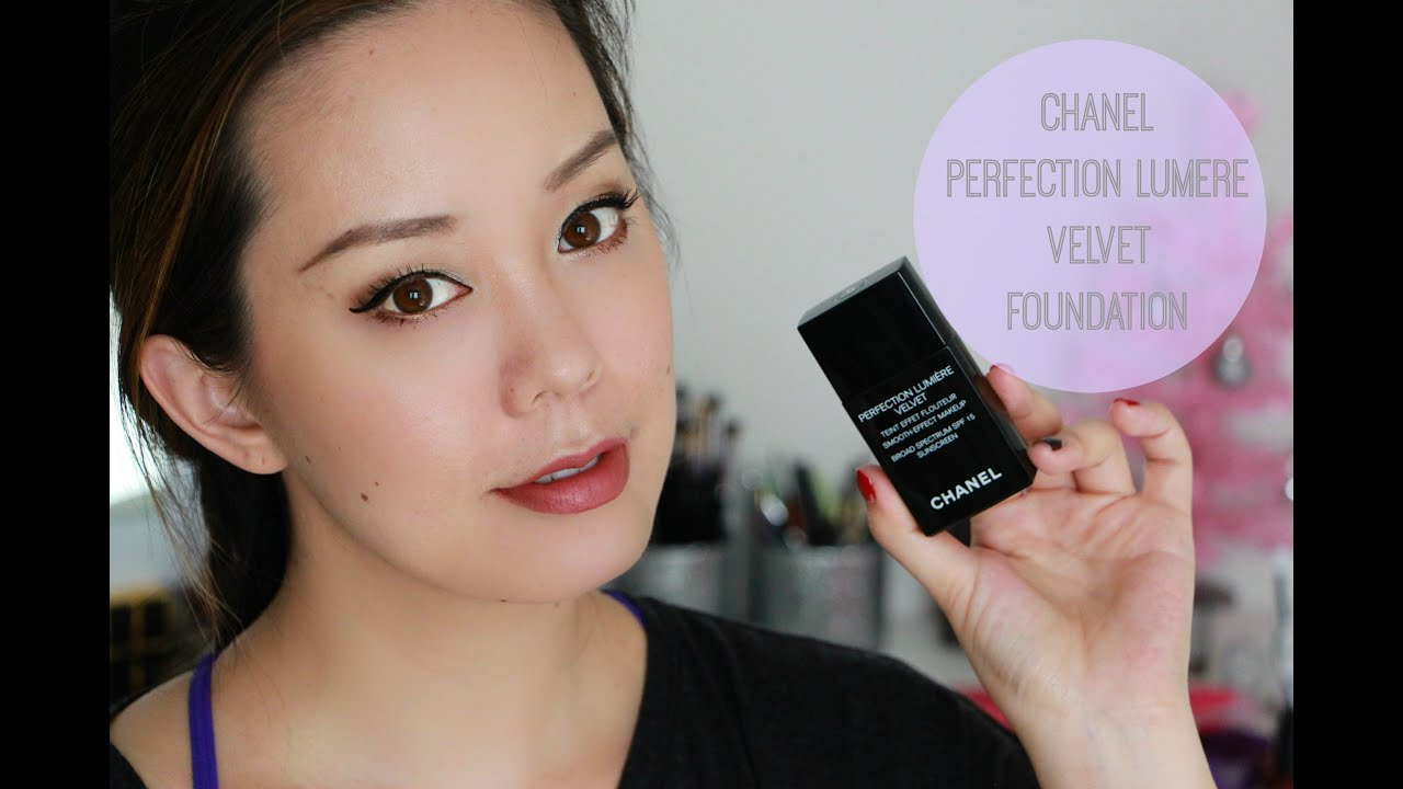 Chanel Perfection Lumiere Velvet Foundation First Impression