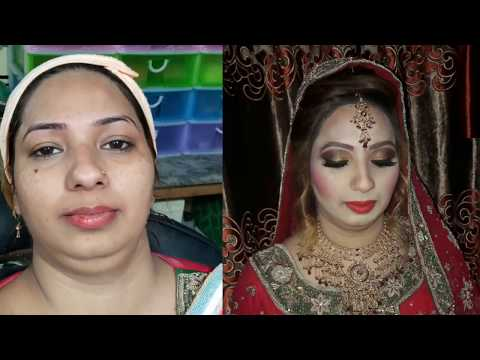 How to Plan Your Bridal Makeup(nazia bilal)