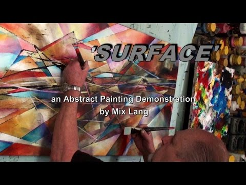 Blending & Shading an Abstract Painting using washes, Techniques