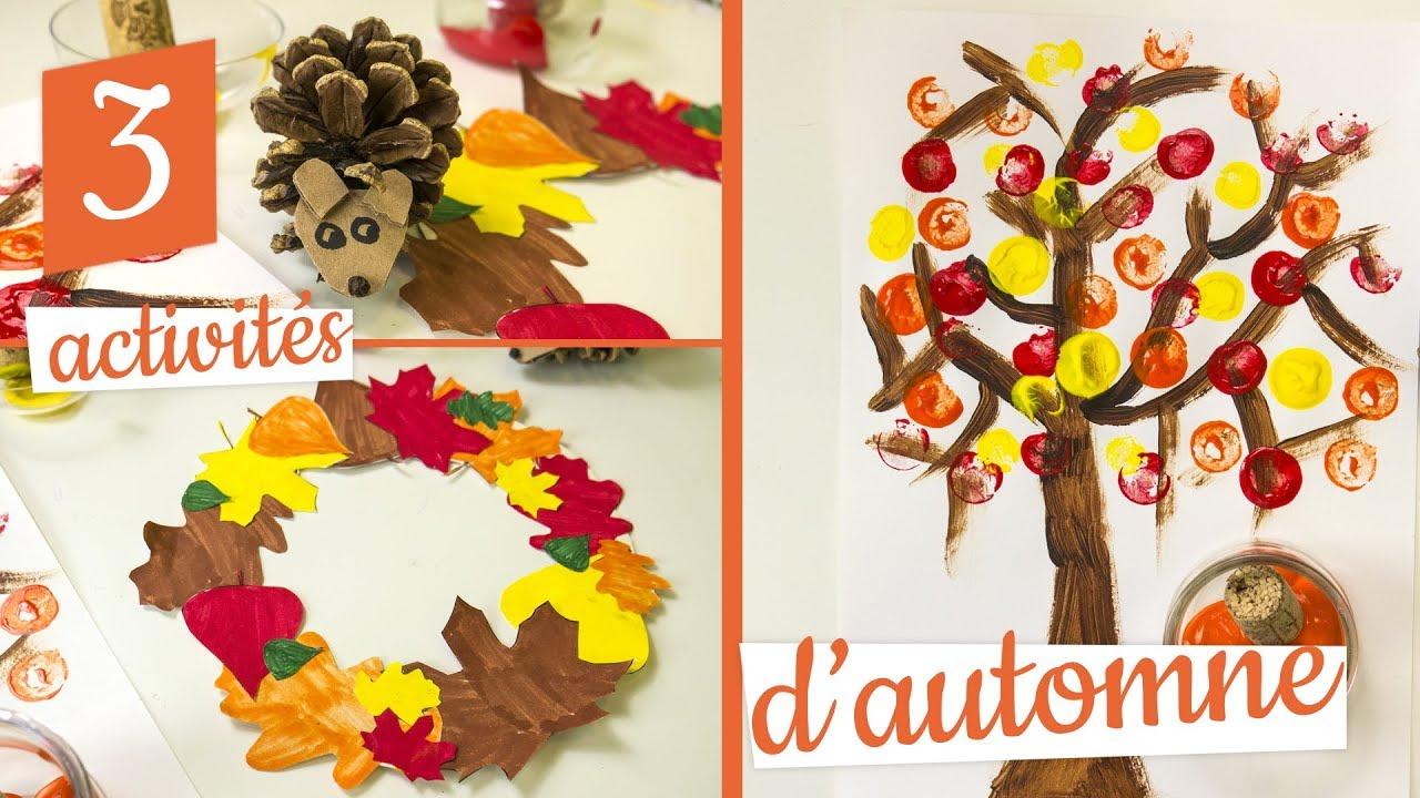 Deco D Automne Facile 3 activités manuelles d'automne en partenariat avec familysphere
