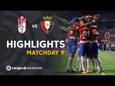 Highlights Granada CF vs CA Osasuna (1-0)