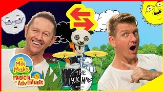 The Opposites Song | Learn Opposites The Mik Maks | Nursery Rhymes and Kids Songs