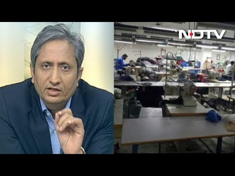 Prime Time With Ravish - Small and Medium Scale Industries Hurt by Note Bandi
