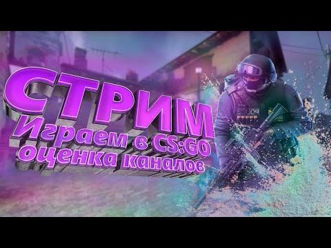 СТРИМ CS:GO/ОЦЕНКА КАНАЛОВ//РОЗЫГРЫШ/ОБЩЕНИЕ/Пришел новый ПК/Dream Squad Stream