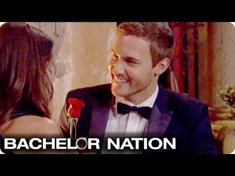 Peter Hands Out His First Impression Rose 🌹   The Bachelor