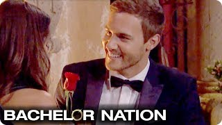 Peter Hands Out His First Impression Rose 🌹 | The Bachelor